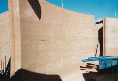 Rammed Earth walls