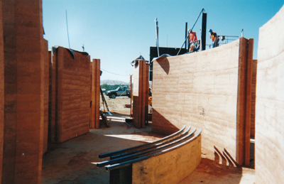 Curved Flexiform formwork