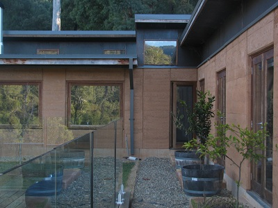 Rammed Earth Home in Harrietville