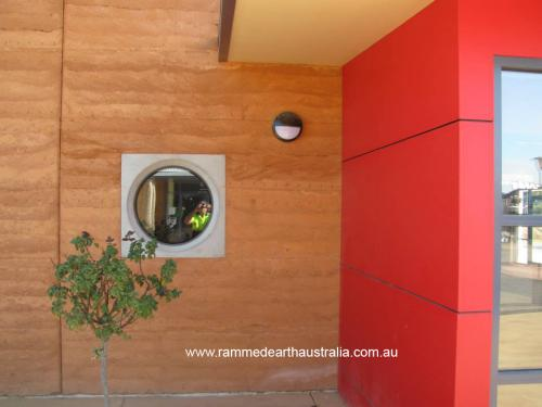 Rammed Earth at Frayne Collage Baranduda Australia