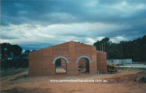 Rammed Earth Church