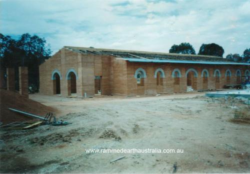 Rammed Earth Church