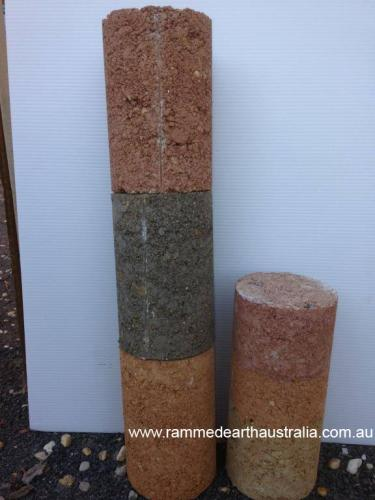 Rammed Earth colour samples