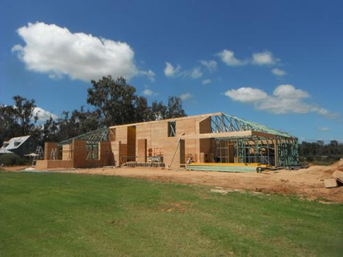 Rammed Earth House in Strathmerton